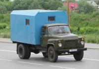 Аварийно-ремонтная машина водоканала на шасси ГАЗ-53-12 #С 182 ЕМ 45. Курган, улица Климова