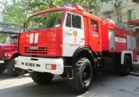Автоцистерна АЦ-3-40(4326) на шасси КамАЗ-4326 #3303 Ч2. Николаев, ул.Соборная
