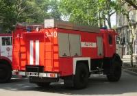 Автоцистерна АЦ-3-40(4326) на шасси КамАЗ #3303 Ч2. Николаев, ул.Соборная