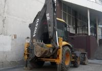 Экскаватор-погрузчик Volvo BL61B #7542 ТА 72. Тюмень, Киевская улица