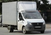 """Фургон на шасси ГАЗ-А23R22 """"Газель Next"""" #С 825 НК 154. Новосибирск, улица Одоевского"""