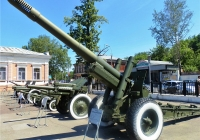 152-мм гаубица-пушка МЛ-20. Пермь, музей Мотовилихинского завода