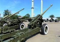 130-мм гаубица-пушка М-46. Пермь, музей Мотовилихинского завода