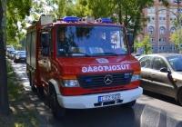 Пожарный автомобиль на шасси Mercedes-Benz Vario 816D #LZZ-559. Венгрия, Будапешт