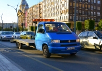 Эвакуатор на шасси Volkswagen Transporter T4 #MTG-883. Венгрия, Будапешт