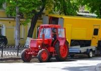 Трактор ЛТЗ-60А. Украина, Киев, улица Лаврска