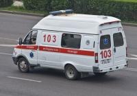 Автомобиль СМП на базе ГАЗ-3221* #A 036 ER. Алматы, улица Саина