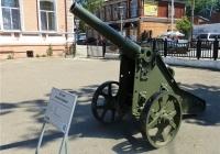 87-мм лёгкая пушка образца 1877 года для защиты крепостей. Пермь, музей Мотовилихинского завода