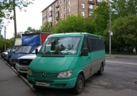 Микроавтобус Mercedes-Benz 213CDI #Т 469 ВМ 777. Москва, Рижский проезд