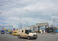 Инкассаторский броневик на базе Ford #А 549 НХ 777. Москва, Рижская площадь