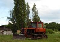 Бульдозер на базе трактора ДТ-75*. Белгородская область, Алексеевский район, село Меняйлово