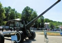 122-мм корпусная пушка А-19. Пермь, музей Мотовилихинского завода