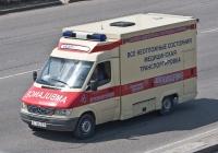 Автомобиль СМП на базе Mercedes-Benz 312D #A 764 ET. Алматы, улица Саина