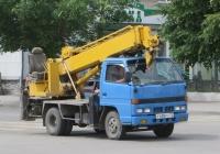 Бурильно-крановая машина Aichi D-502 на шасси Isuzu ELF #Р 438 РУ 72. Курган, улица Куйбышева