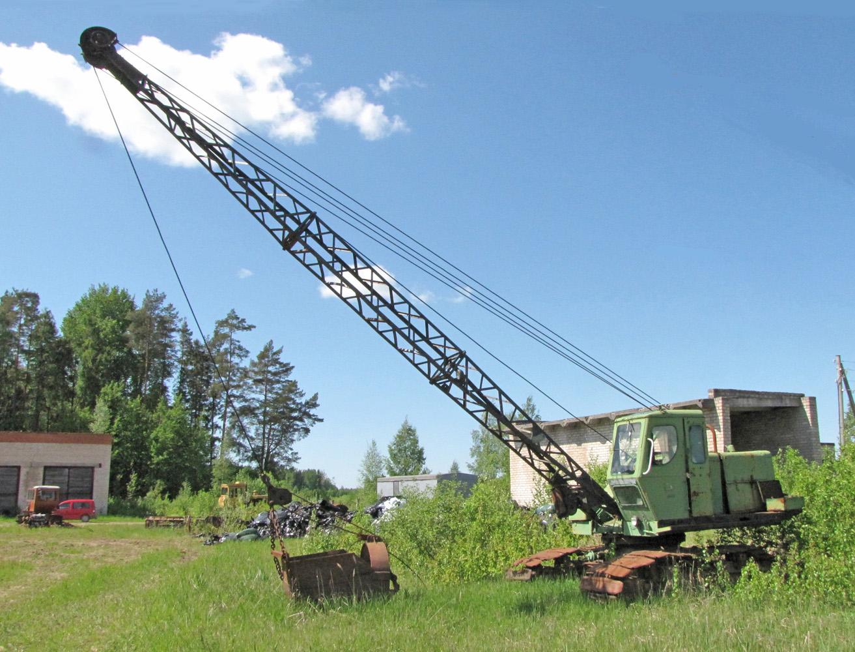Э-304 1963 г.в. производства Калининского экскаваторного завода.. Латвия, Валка