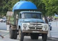 Самосвал ЗиЛ-ММЗ на шасси ЗиЛ-130* #С 411 ВС 45 с ёмкостью для полива в кузове  . Курган, улица Гоголя