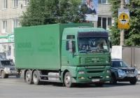 Фургон на шасси MAN #Р 555 СР 72. Курган, улица Куйбышева