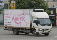 Фургон Чайка-Сервис 3784Е1 на шасси Isuzu #Н 642 ЕЕ 45. Курган, улица Куйбышева