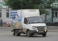 "Фургон ГАЗ-3302 ""Газель"" #К 090 ВС 45. Курган, улица Куйбышева"