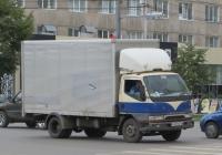 Фургон Mitsubishi Canter #Т 497 РН 96. Курган, улица Куйбышева