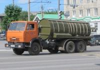 Вакуумная машина ВМК-10 на шасси КамАЗ-53215 #С 333 КК 45. Курган, улица Ленина