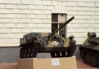 Авиадесантная самоходная артиллерийская установка АСУ-57 №096. Рязань, музей ВДВ