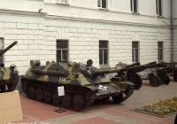 Авиадесентная самоходная артиллерийская установка АСУ-85 №534. Рязань, музей ВДВ