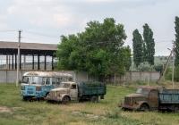 Автобус ПАЗ-3201, автомобили ГАЗ-51А и ГАЗ-93Б. Одесская область, Ренийский район, с. Долинское