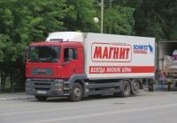 Изотермический фургон Schmitz Cargobull M.KO 7.7 FP 25 на шасси MAN TGS 28.360 #Н 600 РМ 37. Курган, улица Карла Маркса