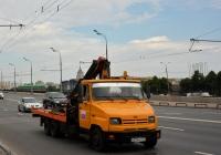 Эвакуатор ЗиЛ-5302АР #Н 024 НР 177. Москва, улица Крымский Вал