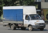"Автомобиль ГАЗ-3302 ""Газель"" #С 395 МХ 102. Курган, улица Куйбышева"