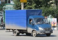 "Фургон на шасси ГАЗ-3302* ""Газель"" #В 275 ЕХ 45. Курган, улица Куйбышева"