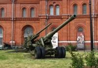 180-мм пушка С-23. Санкт-Петербург, Музей артиллерии, инженерных войск и войск связи