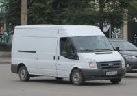 Фургон Ford Transit TDCi #В 308 КВ 45. Курган, улица Куйбышева
