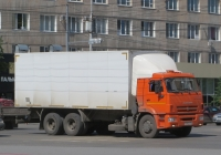 Фургон модели 576507 на шасси КамАЗ-65115 #Р 016 СХ 174. Курган, улица Куйбышева