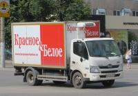 Фургон 5764N на шасси Hino 300 #О 603 СР 174. Курган, улица Куйбышева
