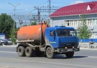 Вакуумная машина МК-10 на шасси КамАЗ-54105 #О 340 КС 45. Курган, Станционная улица