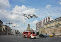 Пожарная лестница M32 L-AS HZL на шасси IVECO CARGO 160E30E5 HZL #Х 035 ХО 197. Москва, Зубовская площадь