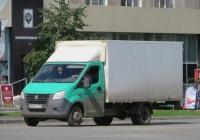"Фургон на шасси ГАЗ-А23R22 ""Газель Next"" #А 501 ЕТ 196. Курган, улица Ленина"