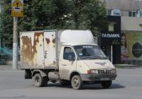 """Фургон ЗСА-270700 на шасси ГАЗ-3302 """"Газель"""" #Р 349 КХ 45. Курган, улица Куйбышева"""