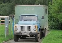 Аварийная мастерская на шасси ГАЗ-53-12 #Т 221 АС 45 . Курган, территория Лицея № 12