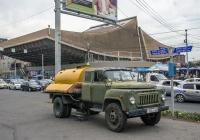 Ассенизационная машина АНМ-53 на шасси ГАЗ-53А #723 LL 64. Ереван, просп. Тиграна Меца