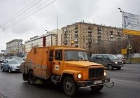 Коммунальная уборочная машина ПУМ-1 на базе ГАЗ-3307 #Т 462 НЕ 777. Москва, улица Сущёвский Вал