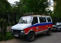 Автомобиль спортивно-туристический на шасси Peugeot J5  #К 020 ТТ 199. Москва, Михалковская улица