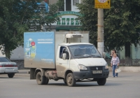 "Фургон на шасси ГАЗ-3302 ""Газель"" #С 699 КТ 96. Курган, улица Куйбышева"