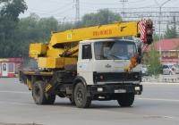Автокран КС-3577-3 на шасси МАЗ-5337 #К 168 ВР 45. Курган, Станционная улица