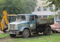 Самосвал ЗиЛ-ММЗ-45085 на шасси ЗиЛ-494560 #Х 643 ЕУ 45. Курган, улица Пушкина