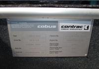 Заводская табличка перронного автобуса Cobus 3000 . Калуга, международный аэропорт Калуга