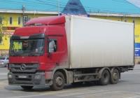 Фургон на шасси Mercedes-Benz Actros 2544 #У 228 РА 116. Курган, улица Куйбышева