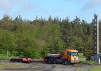 Седельный тягач Scania 144G # М 450 СХ 46 с полуприцепом-трейлером. Белгородская область, Старооскольский район, с. Обуховка